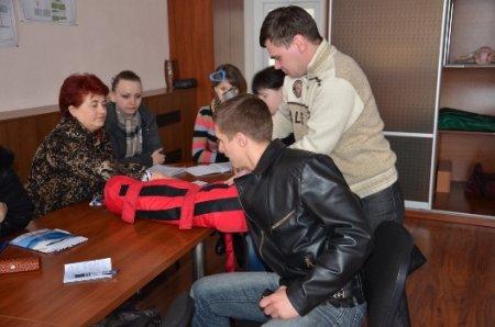 Журналисты на собственном опыте убедились в профессионализме работников службы скорой медицинской помощи Днепропетровщины