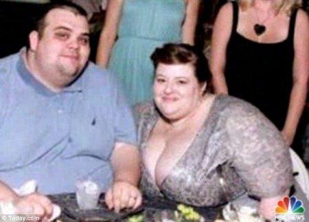 Супружеская пара из США за 19 месяцев сбросила 240 кг